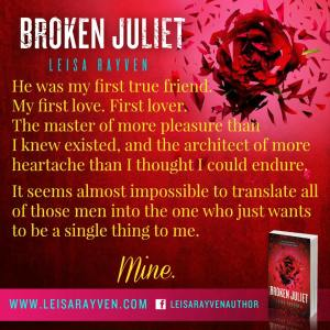 Teaser Broken Juliet