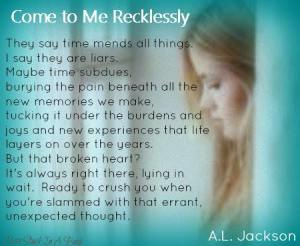 Teaser Come to Me Recklessly